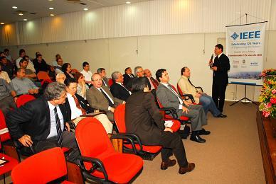 O evento fez parte das comemorações pelos 125 anos do IEEE